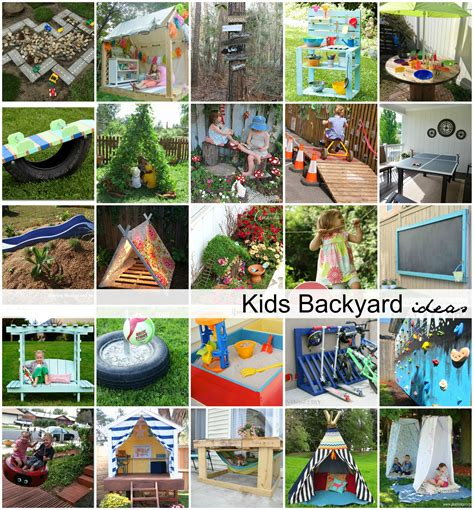 backyard activities for kids diy backyard ideas for kids the idea room