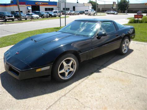 85 corvette for sale for sale 1985 black corvette coupe