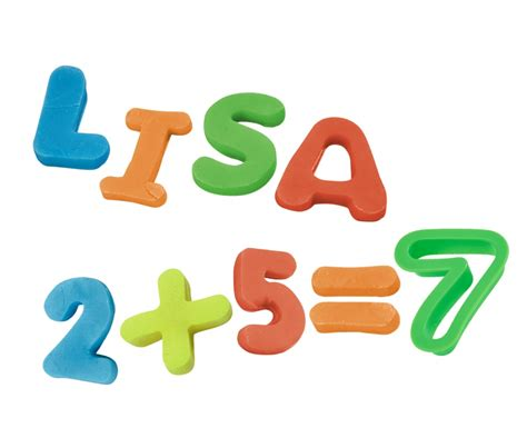 crea parole con lettere pasta da modellare per creare lettere e numeri