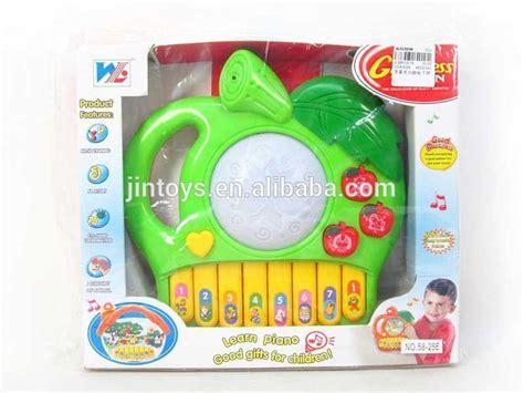 Tupperware Shape O Toys Mainan Anak anak plastik bentuk apel pat drum musik piano mainan