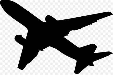 airplane silhouette clip aircraft silhouette clip clip magic