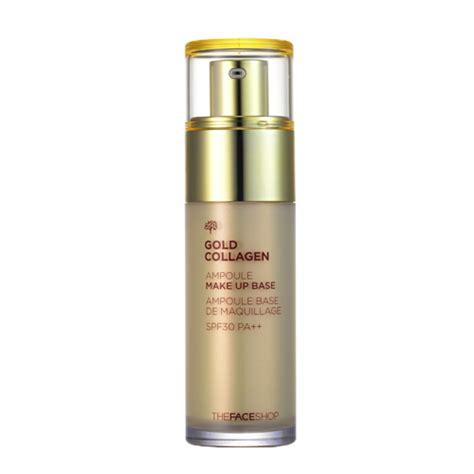 Makeup Base The Shop the shop gold collagen oule makeup base 40ml ebay