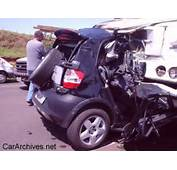 Graphic Content Warning Smart Car Vs A Truck  Wizbang Pop