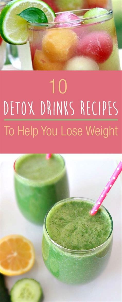 20 Detox Drinks To Help You Lose Weight by 17 Best Ideas About Detox Drinks On Weight