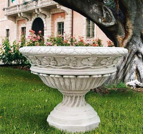 outdoor vase planters vase grand italian planter outdoor pottery vases marble