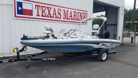 nitro boats for sale in texas nitro 189 boats for sale in texas