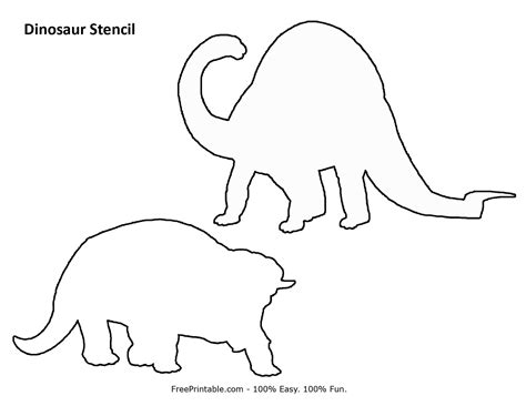 printable dinosaur stencils dinosaur stencil www imgkid com the image kid has it