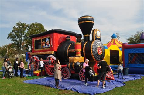 train bounce house rental ny nyc nj ct long island