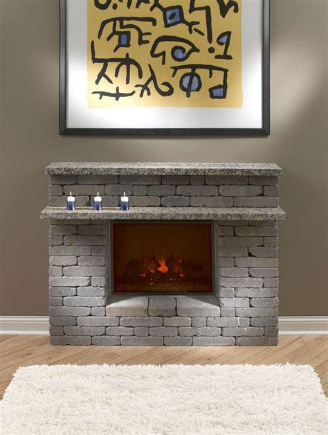 How To Make In A Fireplace by Diy Electric Fireplace Surround Fireplace Design Ideas