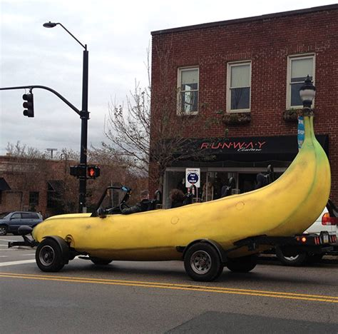 banana car for when you need to split technabob