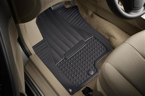 Hyundai Genesis Floor Mats by All Weather Floor Mats Rear Hyundaiparts Net