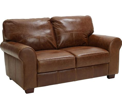 Buy Heart Of House Salisbury 2 Seater Leather Sofa Tan Two Seat Leather Sofa
