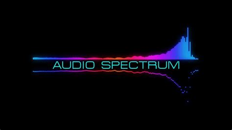 c tutorial audio after effect tutorial audio spectrum youtube