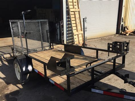 hand tool rack open trailer warren truck trailer inc