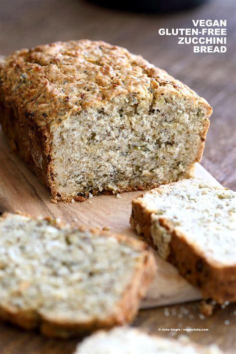protein zucchini bread vegan gluten free zucchini bread recipe vegan richa