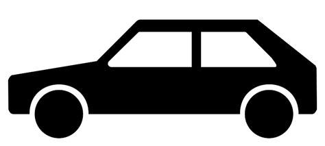 Auto Zeichen by Car Silhouette Vector Clipart Best