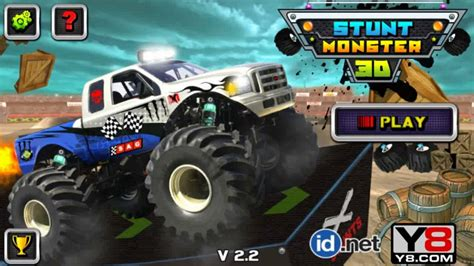 free monster truck video games 3d stunt monster truck games v2 2 monster trucks games