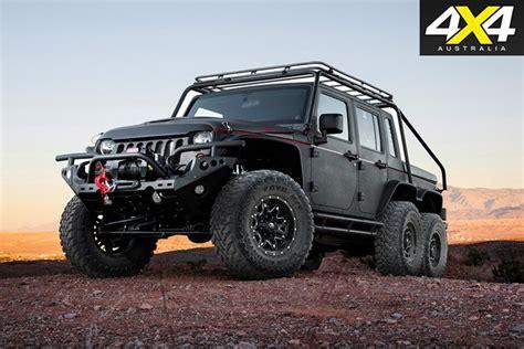 Jeep Wrangler 4x4 Custom 4x4 6x6 Hellhog Jeep Wrangler 4x4 Australia