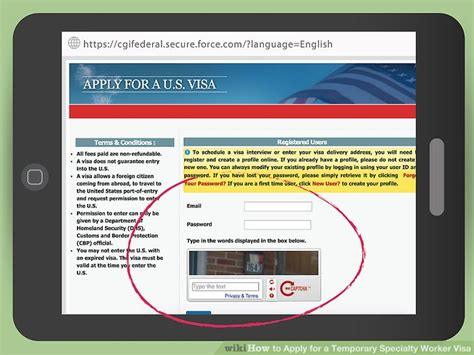 How To Apply For A Temporary Specialty Worker Visa With