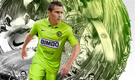 imagenes nuevas del 2015 nike hi vis club america 2015 third kit revealed footy