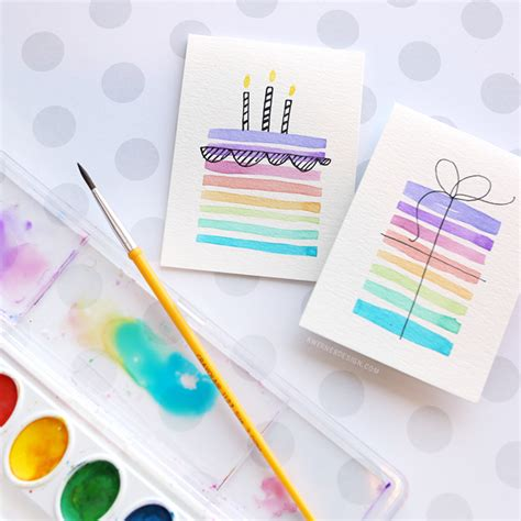 How To Make A Birthday Card For Your