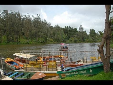 ooty boat house ooty lake and boat house hd youtube