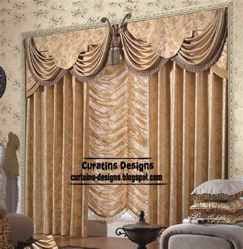 Livingroom Valances | unique living room curtain design and butterfly valance style