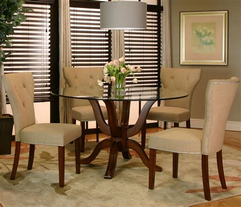 elegant ideas for dining table tops light of dining room wooden dining table designs with glass top 13554