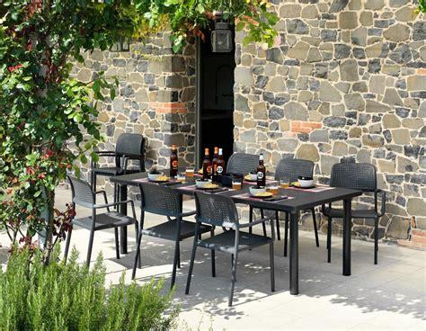 nardi giardino tavolo da giardino libeccio nardi