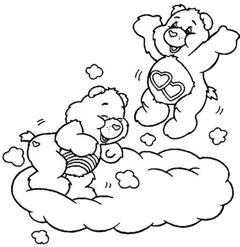 care bears coloring pages cheer bear 73 best images about care bear cheer bear 4 on pinterest