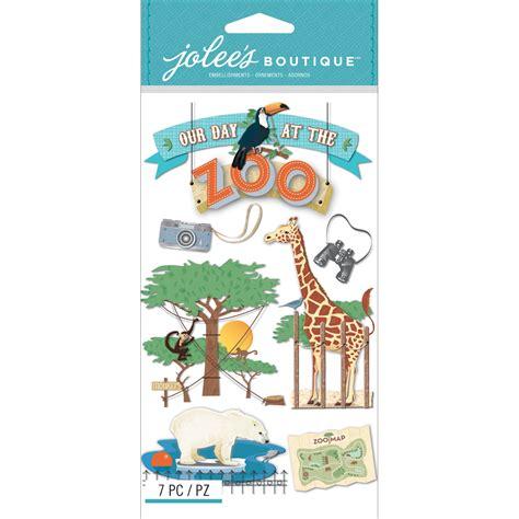 Jolees Stickers jolee s boutique dimensional stickers zoo jo