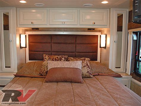 rv bedroom ideas allegro compact class a