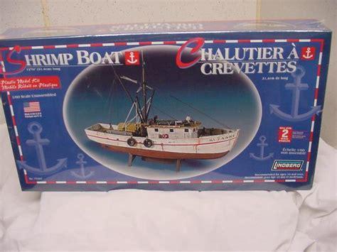shrimp boat model kits shrimp boat model kit 1 60 scale lindberg new sealed