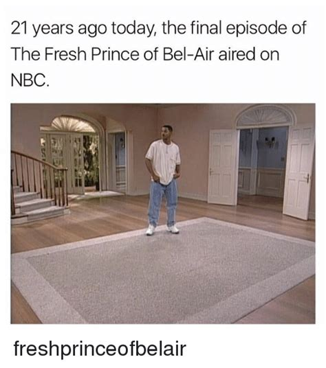 When Did The Last Episode Of House Air by 21 Years Ago Today The Episode Of The Fresh Prince