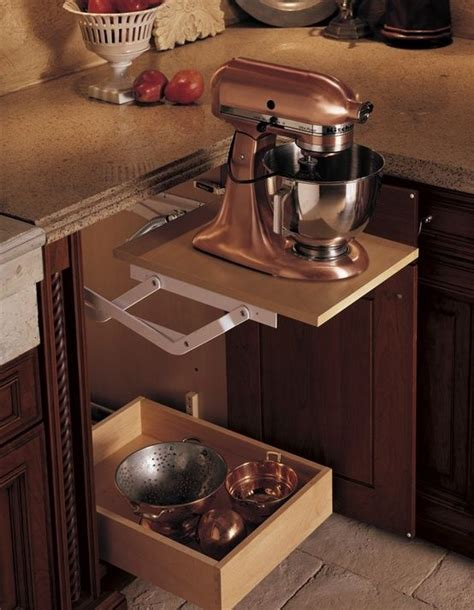 kitchen aid cabinets sleek ideas to keep your kitchen appliances hidden