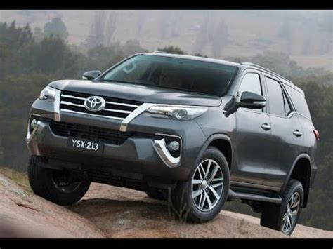 New Fortuner 2016 Youtube 2016 Toyota Fortuner Body Kit 2016 Toyota | new 2016 toyota fortuner youtube