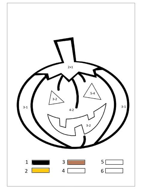 Pumpkin Color By Number 171 Funnycrafts Color By Number Pumpkin