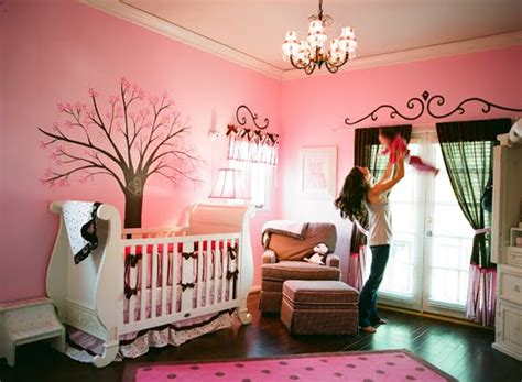 pink baby nursery pink brown wonderland nursery design dazzle