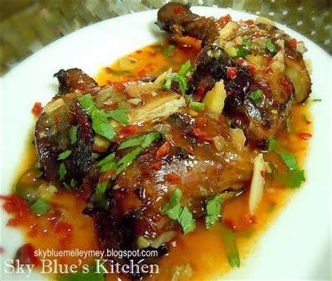 resepi ayam masak sos cili thai meat chicken recipe