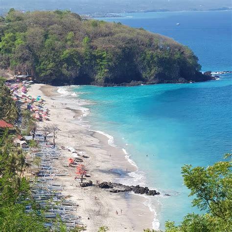 white sand beach bali  hidden beach  east bali