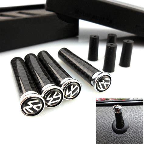 Vw Golf 6 Auto Lock by 4pcs Carbon Fiber Auto Lock Modified Door Pin Universal