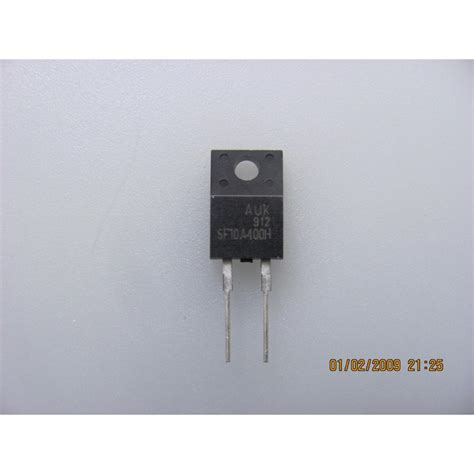 Sf10a400h sf10a400h diode ultra fast recovery diode atvpartselectronique