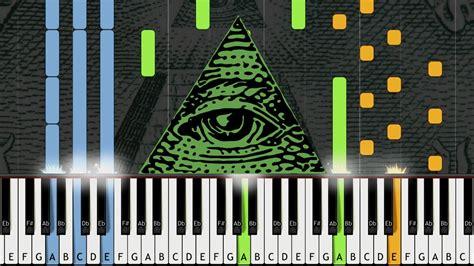 illuminati song x files theme illuminati song piano cover w sheet