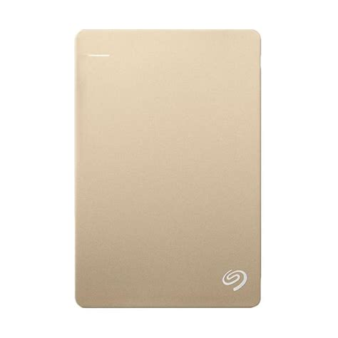 Hardisk Eksternal Seagate Backup Plus Slim 2tb U1087 jual seagate backup plus slim harddisk eksternal gold 2