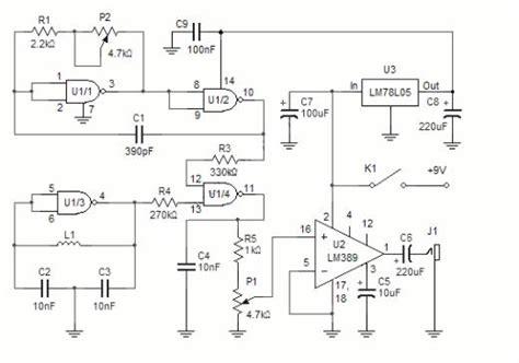 metal detector circuit diagram metal detector circuit page 2 sensors detectors circuits