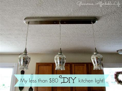 someday crafts diy kitchen light