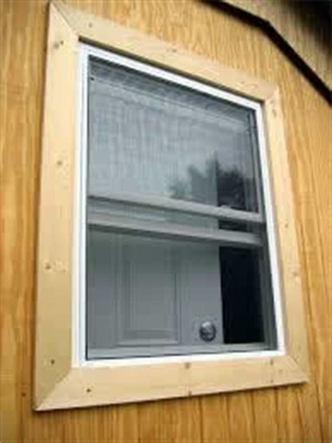Shed Window Trim by Shed Trim How To Install Shed Trim Icreatables