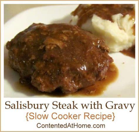 slow cooker steak and potatoes 5 dollar dinnerscom 17 best ideas about crockpot salisbury steak on pinterest
