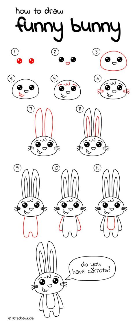 let s draw bunnies 35 step by step bunny drawings books 25 best ideas about how to draw on