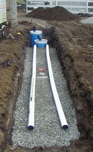 construct a small septic system crafts survival tips